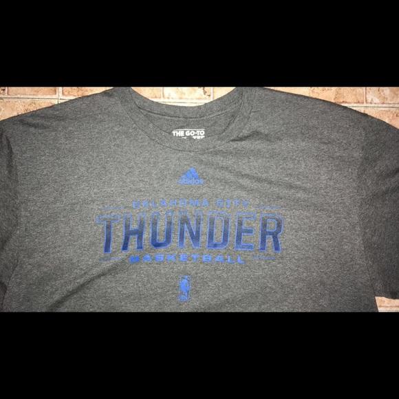 brand new 63fa1 9a063 Men's Adidas OKC Thunder Shirt